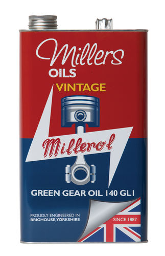 140 GL1 Vintage Green Gear Oil