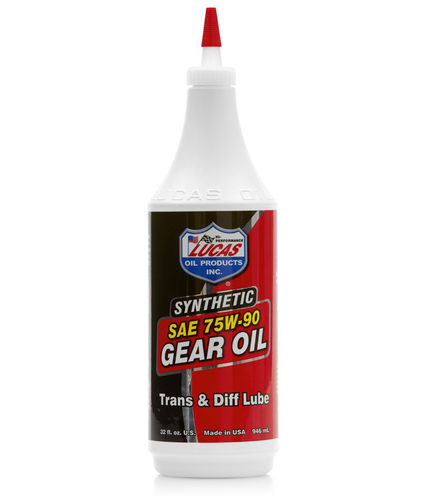 Lucas 75/90 Synthetic Gear Oil (1L)